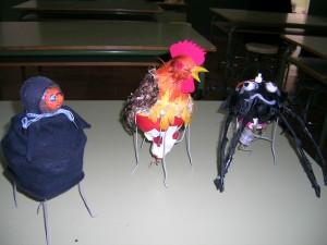 """""""Bichos vibrantes"""", realizados por 2º ESO"""