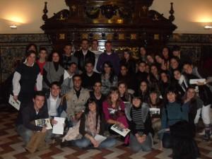 Visita Italica y Alfonso XIII