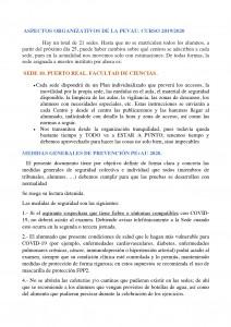 MEDIDAS GENERALES DE PREVENCIÓN PEvAU